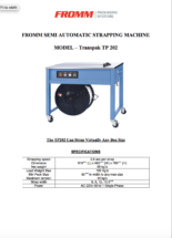 TP202 Semi Automatic Machine