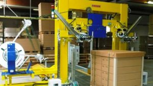 FROMM PM and AM series automated strapping machines